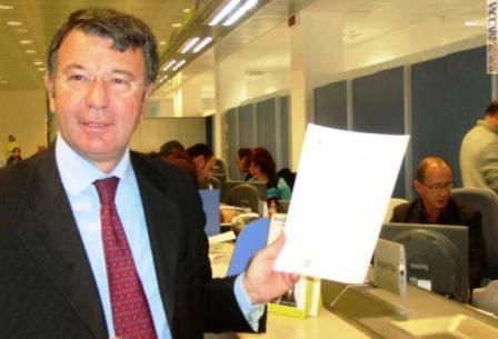 Mimmo Giorgiano si dimette. Il Segretario Generale dell'Ente dovrà ratificare la lettera di dimissioni