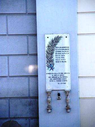 PER NON DIMENTICARE A Sant'Anastasia il sindaco ricorda i concittadini caduti nel '43