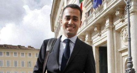 Il Vicepresidente della Camera,Luigi Di Maio, ha partecipato alla Marcia Antiracket a Pomigliano