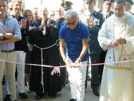 """Un pezzo di città restituito ai cittadini: il sindaco Esposito taglia il nastro del """"nuovo"""" Parco Boschetto"""