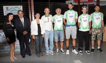 Ciclismo: Campionato regionale scalatore C.S.A.In, il Vesuvio ha assegnato le maglie campione  scalatore Campania 2013