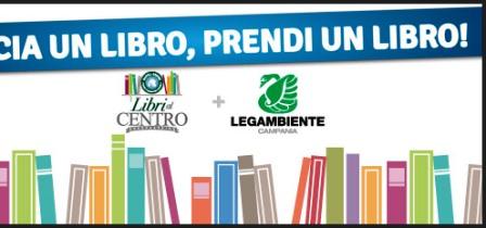 LIBRI AL CENTRO – All'Auchan di via Argine, Legambiente campania apre uno spazio dedicato ai libri e … allo scambio