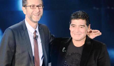 """Maradona contro De Laurentiis """"Lui non mi vuole al Napoli"""" e contro Equitalia"""