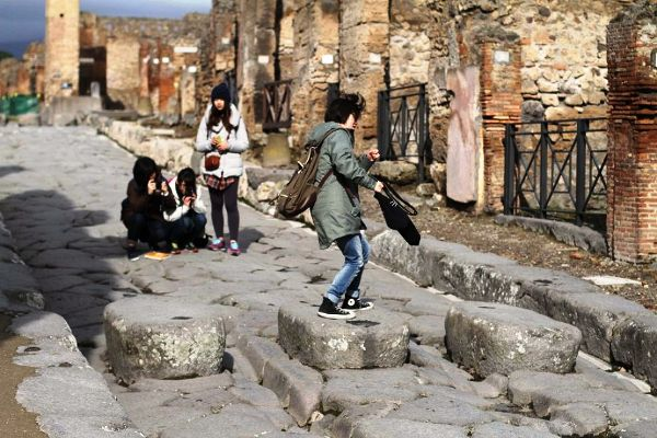 Maltempo: danni agli Scavi di Pompei