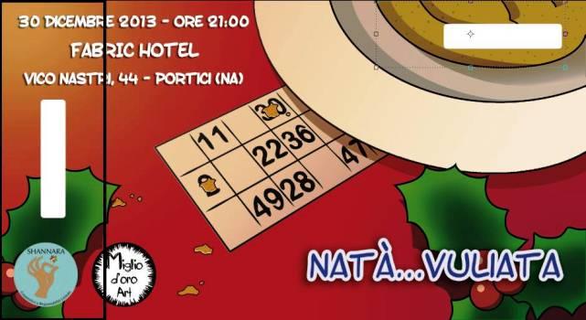 """Al Fabric di Portici """"NATA'…VULIATA"""": serata giochi natalizia di beneficenza, organizzata dalla Miglio D'Oro Art"""""""