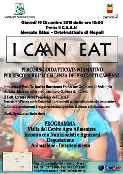 """""""I Ca(a)n eat"""": Il percorso didattico ed informativo, organizzato dal CAAN per riscoprire i prodotti campani"""