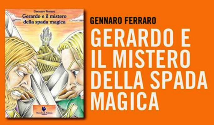 """Un libro per giovani lettori presentato da giovani attori: """"Gerardo e il mistero della spada magica"""""""