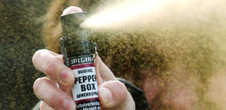A gennaio via alla sperimentazione dello Spray al peperoncino