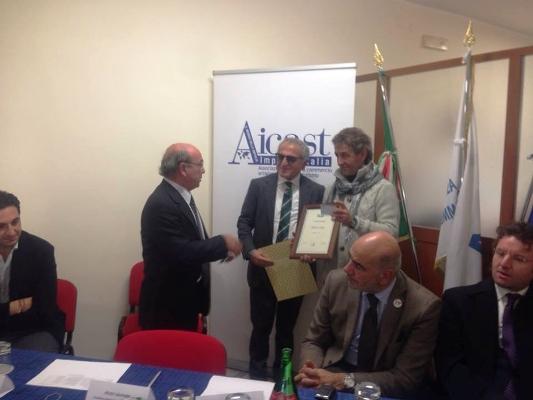 Sant'Anastasia – Due imprenditori locali : Michele Piccolo e Ugo Allocca  tra i premiati dell'AICAST