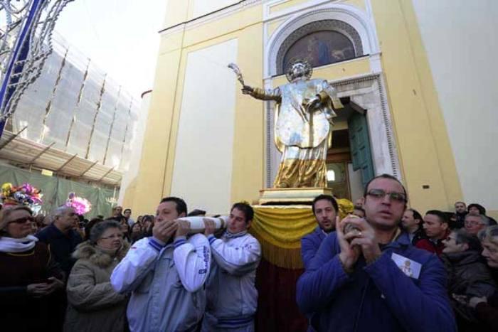 Festeggiamenti e dissapori a Pomigliano in occasione della festa di San Felice