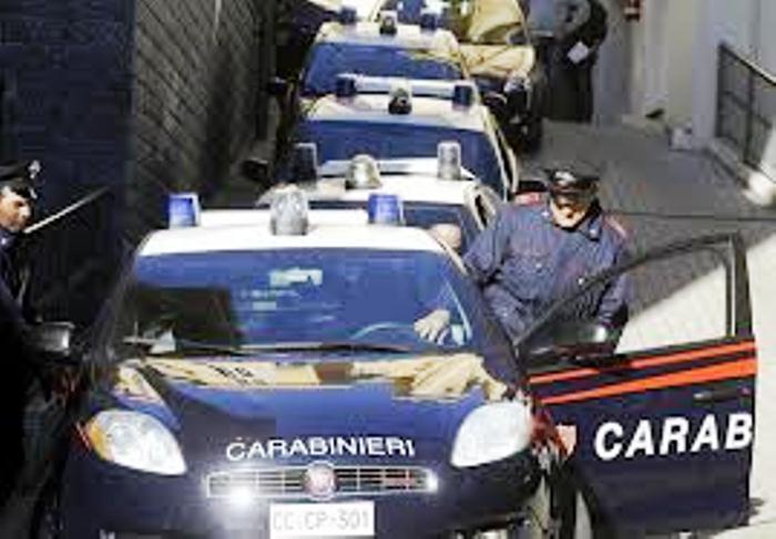 Operazione dei Carabinieri contro clan Crimaldi di Acerra, otto arresti in Campania