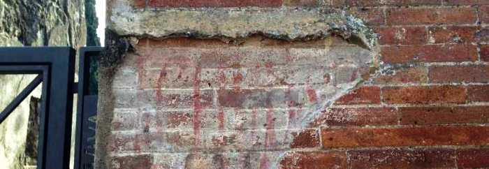 Scavi di Pompei: emerge una scritta elettorale del 79 di Lucio Ceio Secondo