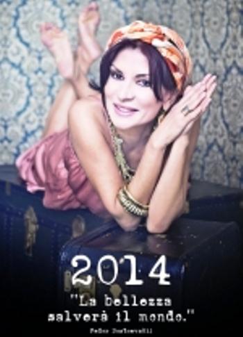 'La bellezza salverà il mondo' : Presentazione calendario 2014 Sabato 4 gennaio al Teatro Mercadante di Napoli