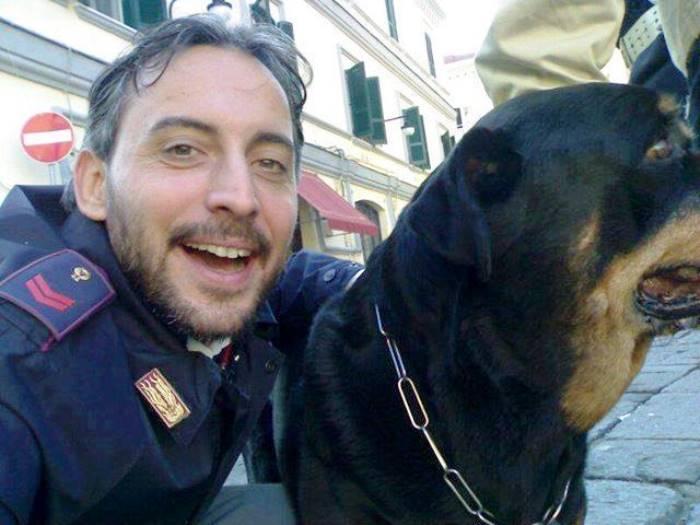 400 Scout a Pollena Trocchia per sostenere Fabio Graziano, poliziotto e scout in stato vegetativo