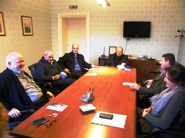 Il Commissario Nigro incontra i parroci di Sant'Anastasia
