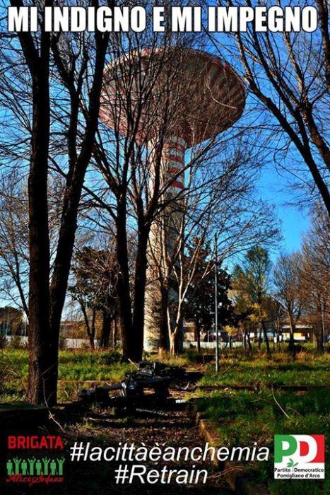 """Pomigliano d'Arco – Al via il """"Retrain II"""": sarà ripulito il parco """"Nicholas Green"""""""