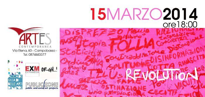 Campobasso ospita l'Accademia di Belle Arti di Napoli per la mostra REVOLUTION