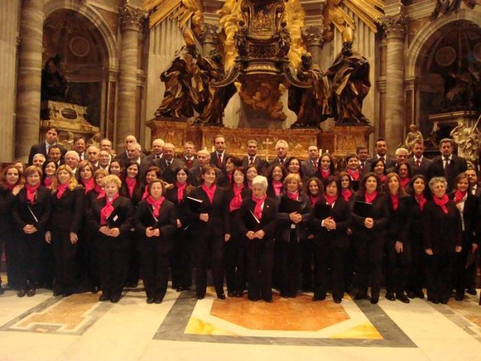 Corale polifonica di Ercolano : doppio concerto a Bruxelles
