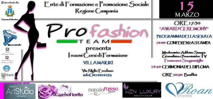 "Ercolano. Partono i corsi al ""Profashion Team"""