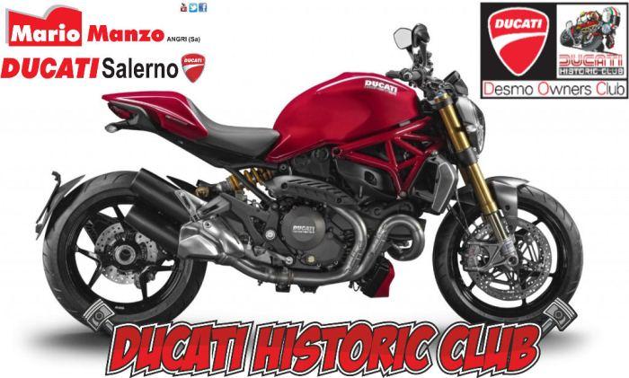 In anteprima ad Angri la nuova Ducati Monster 1200