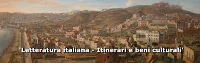 Letteratura italiana. Itinerari e Beni Culturali