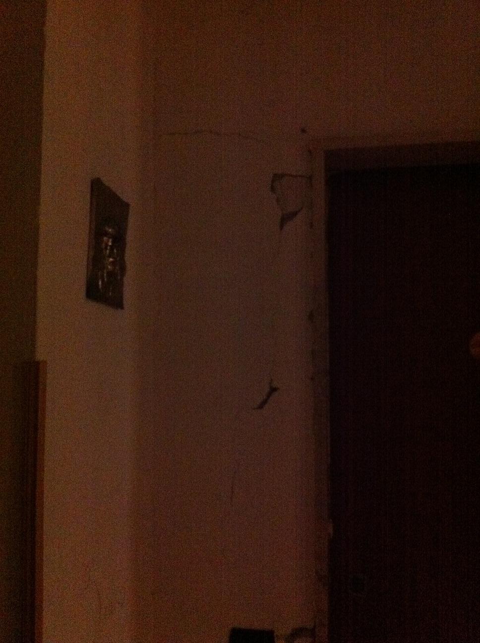 foto pollena parete rotta