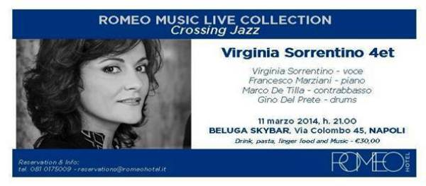 Romeo Music live Collection. Crossing Jazz: Virginia Sorrentino