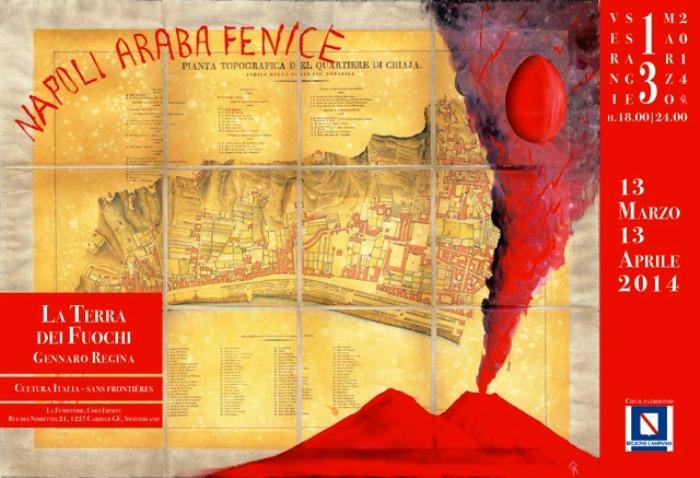 """Un napoletano a Ginevra. Gennaro Regina inaugura la mostra """"La Terra dei Fuochi"""""""