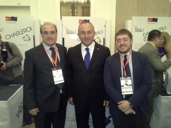 Portici all'EU-Turkey Town Twinning programme conference di Ankara. Al centro dei colloqui sviluppo turistico, ambiente e pianificazione urbana