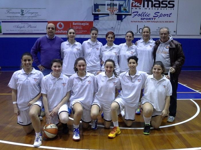 Il Sorriso Azzurro Cercola sarà presente alle finali nazionali di Basket