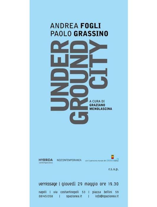 Underground City: il vernissage esposto da Spazio Nea