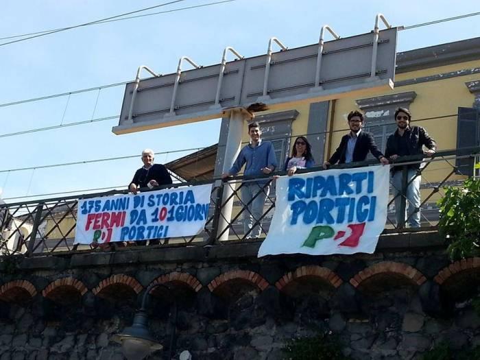 """""""175 anni di storia fermi da 101 giorni"""": Il PD di Portici scende in campo per la riapertura della storica ferrovia"""