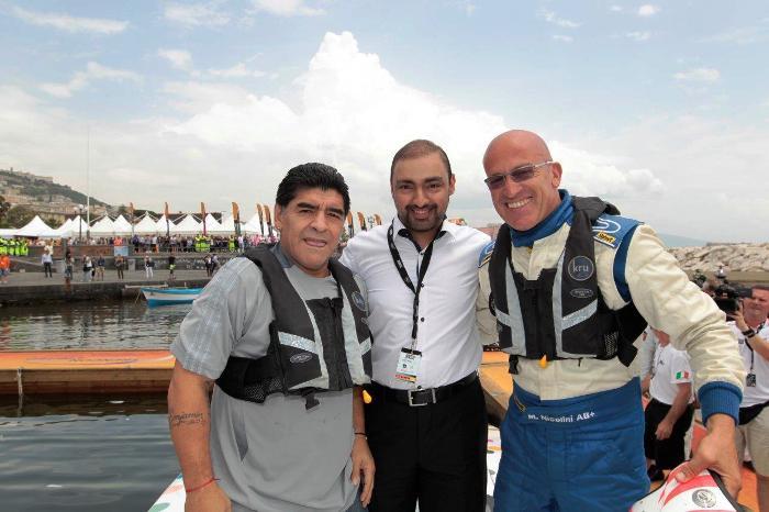 La gara Xcat di Napoli si conclude con quattro italiani sul podio e un grandissimo successo di pubblico con Diego Armando Maradona