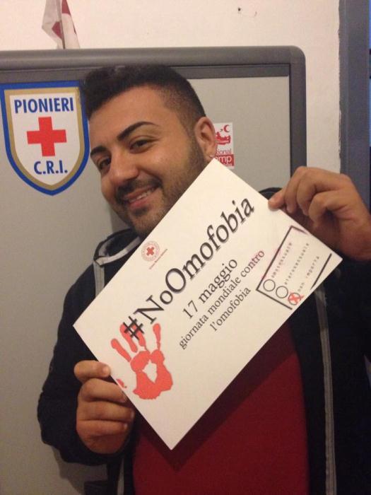 """La Croce Rossa di Sant'Anastasia dice """"no"""" all'omofobia"""