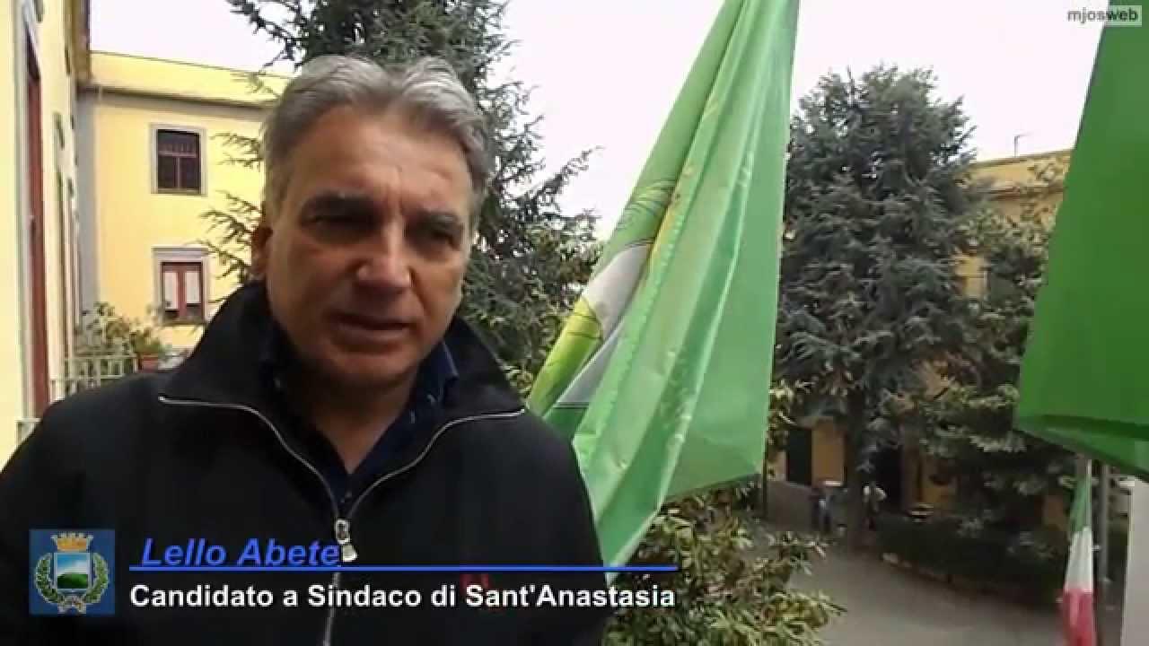 """IL SINDACO DI SANT'ANASTASIA: """"ACCENDERE I PROPRI DESIDERI"""""""