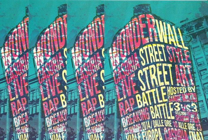 Wonderwall – Casoria Street Style: un'intera giornata dedicata alla street art