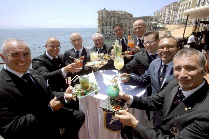 Più frutta e meno alcool, a Napoli le proposte d'autore di nove barman Aibes