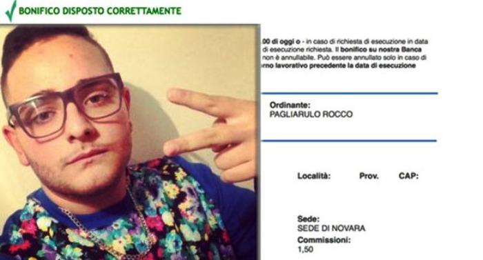 Raccolta fondi per la Sla: Rocco Hunt, niente doccia gelata e  posta il suo bonifico di mille euro per la Sla