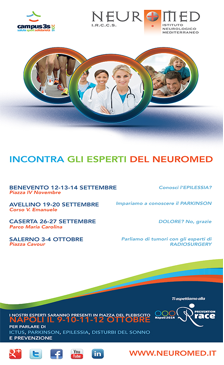 """L'I.R.C.C.S. Neuromed a """"Campus 3s"""""""