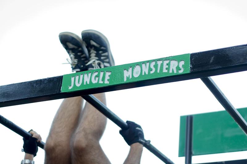 Restyling per i Jungle Monsters: il nuovo logo per le strutture ginniche del Parco Pubblico di Pomigliano