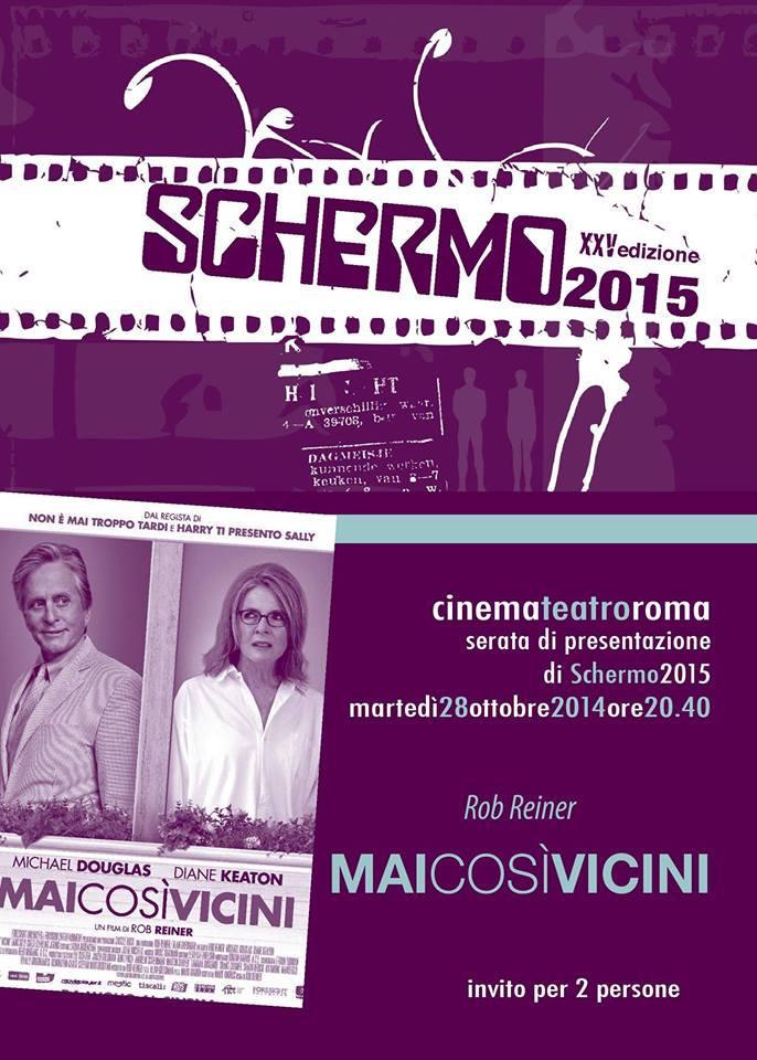 Il 28 Ottobre riparte Schermo 2015: kermesse cinematografica del Vesuviano