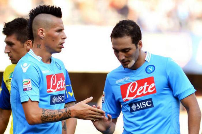 I campioni del Napoli stravincono in Nazionale: forza azzurri