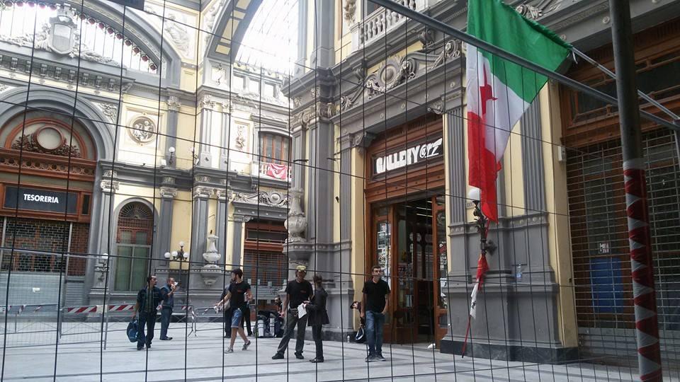 """""""L'arte di costruire la rivoluzione"""": riapre il centro culturale autogestito GalleRiArt"""