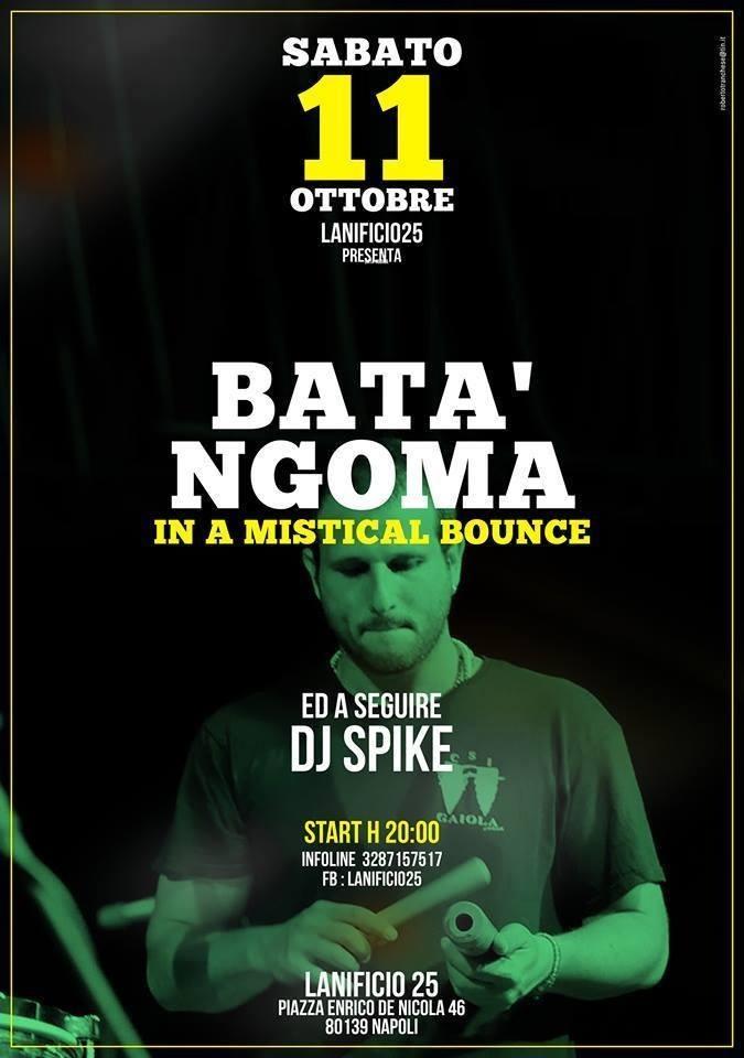 Napoli, 11 ottobre: il live reggae dei Bata' ngoma al Lanificio 25