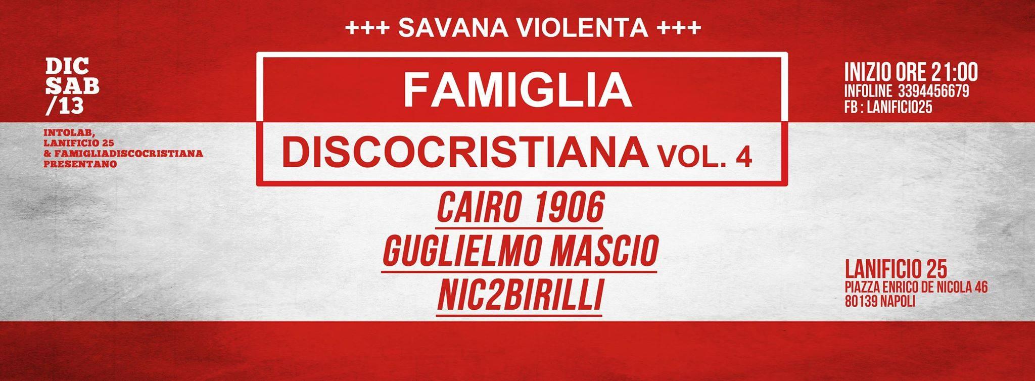 La migliore musica in vinile scelta da Famiglia Discocristiana per il pubblico del Lanificio25.