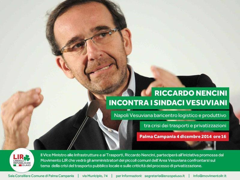 Il 4 dicembre incontro a porte chiuse a Palma Campania per discutere di infrastrutture, trasporti e privatizzazioni