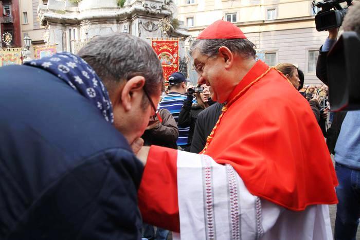Il Cardinale Crescenzio Sepe a San Giorgio a Cremano per la Festa del Santo Patrono
