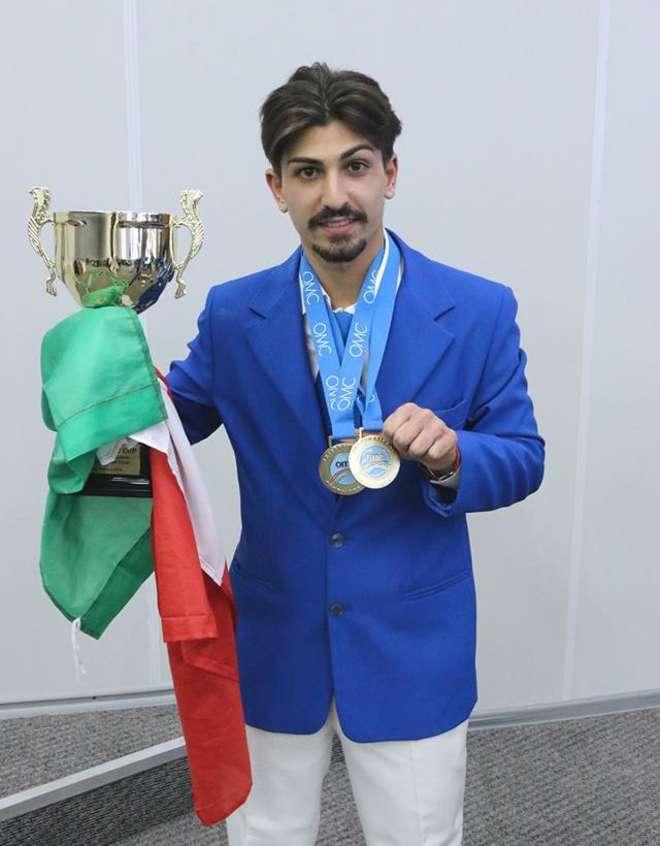 Domenico De Falco, il figaro di Volla campione agli Europe Cup Open 2014