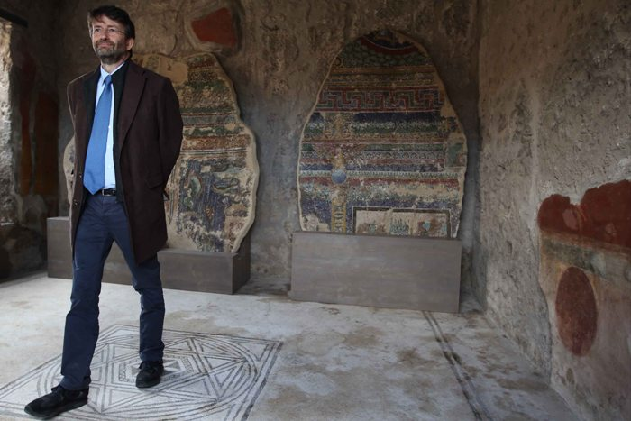 Il ministro Franceschini chiude gli Scavi di Pompei, i conti non tornano