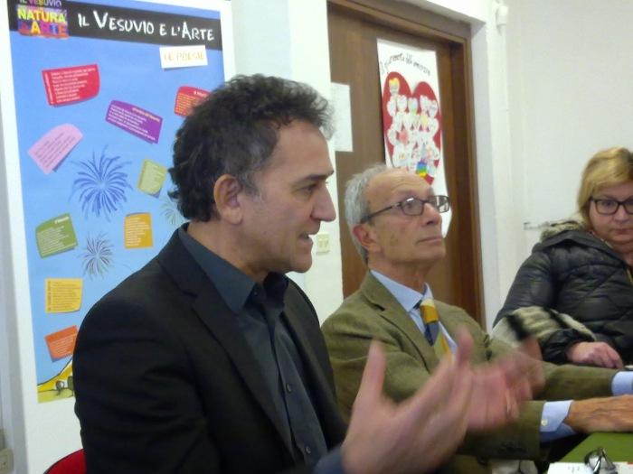 Vesuvio day, firmato Lello Esposito il progetto tra natura e arte che parte dalle scuole